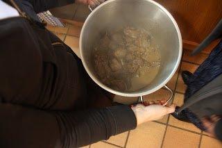cocinar jabalí