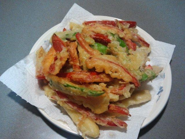 como hacer tempura de verduras