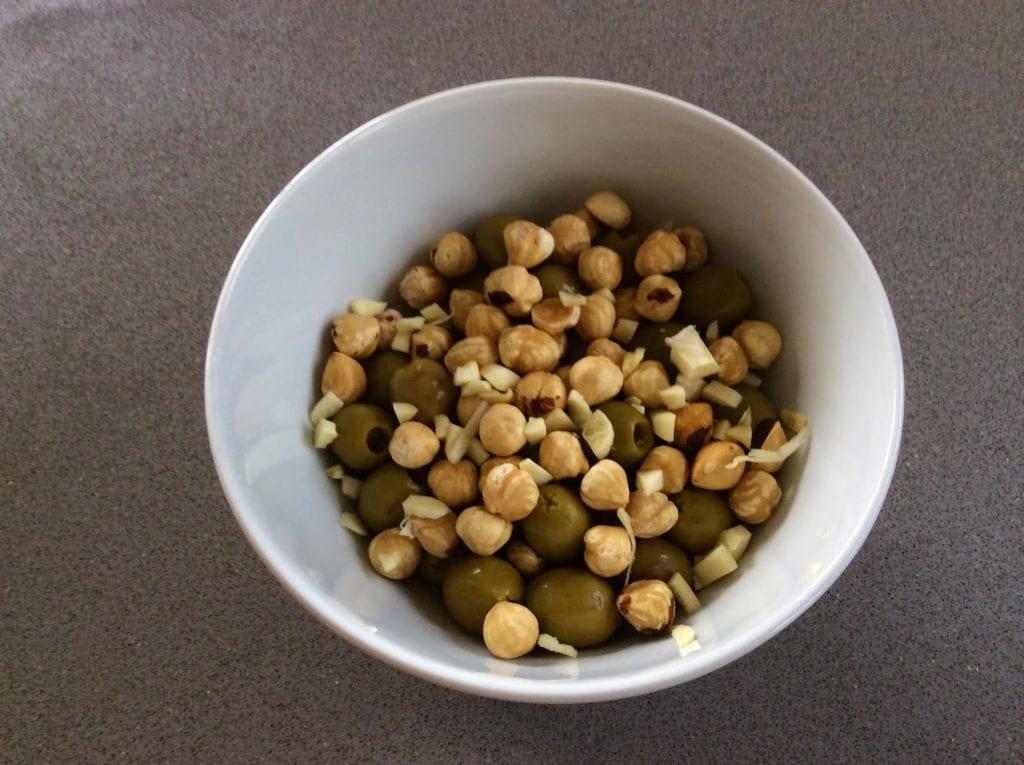 como hacer olivada