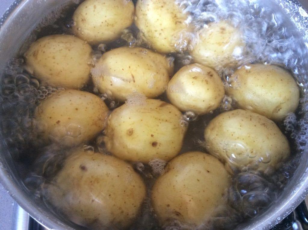 tiempo cocción patatas