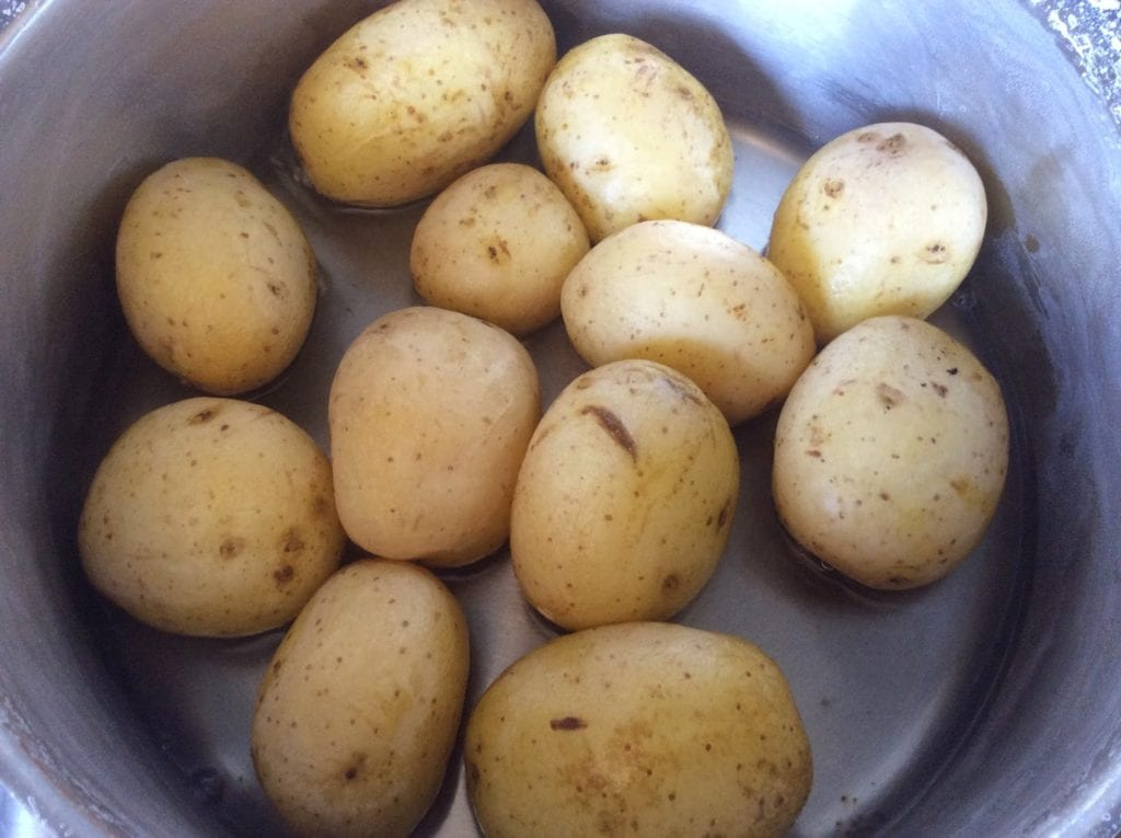 preparacion patatas