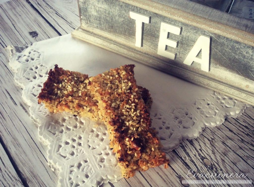 barritas energéticas de quinoa