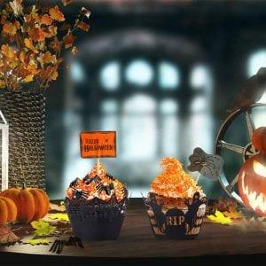 cupcakes halloween dia de muertos