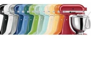 gama de colores kitchenaid