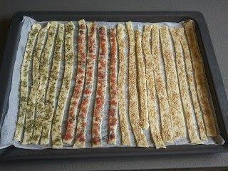 bastonets de pasta de full