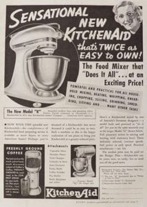 anuncio kitchenaid